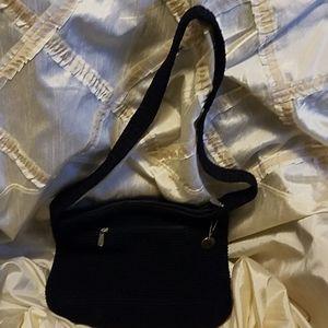 The Sak Blue Knit CrossBody purse